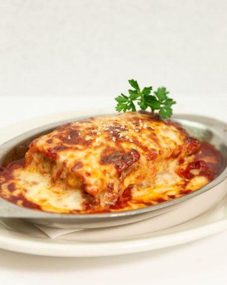 Lasagña de Pollo, Carne o Espinaca