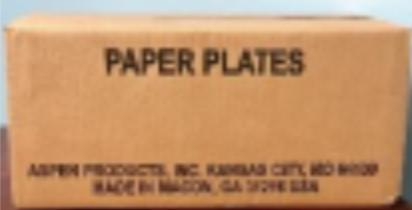 White Paper PlatesFelixVieraGerena