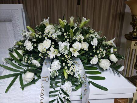 arreglo floral funeraria